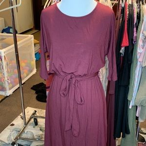 A&D Newer style tie front dress